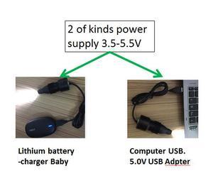 Image 2 - Hoge helderheid CRI 95 LED Draagbare inspecteren licht handheld medische endoscoop ENT lamp met usb comnector IP67 waterdicht/FY208