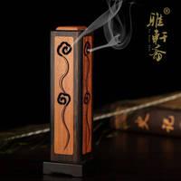 הובנה Rosewood קטורת אלגום יצירתי צינור תנור אנכי קו מוצק כלי בשמי קטורת עץ אגס