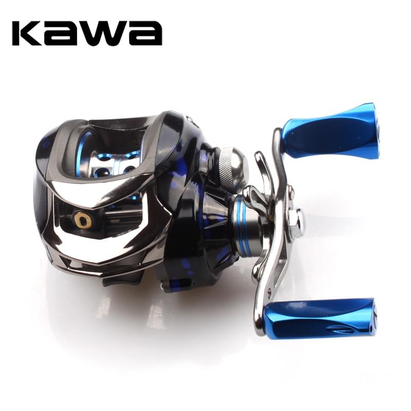2018 Kawa Fishing Reel Ratio 6.3:1 Bait casting Reel Centrifugal Brake Bearing 11+1 One Way Clutch Metal Knob Max Drag 5.5KG