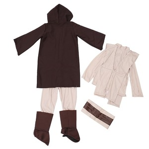 Image 4 - Boys Deluxe Jedi Knight Movie Character Cosplay Party Clothing Kids Fancy Halloween Purim Carnival Costumes