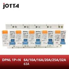 DPNL 1P+ N 16A/20A/25A/32A/63A 230V~ 50 HZ/60 HZ автоматический выключатель с перегрузкой по току и защитой от утечки RCBO