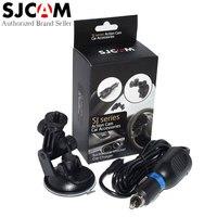 Camcorder Accessories SJCAM Brand Car Charger And Mount For SJCAM SJ5000 Sports DV SJ4000 Sport Camera