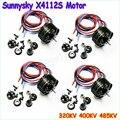 4 шт./лот SUNNYSKY X4112S 320KV КВ 485KV Походный Безщеточный для Мульти-ротора Авиационных