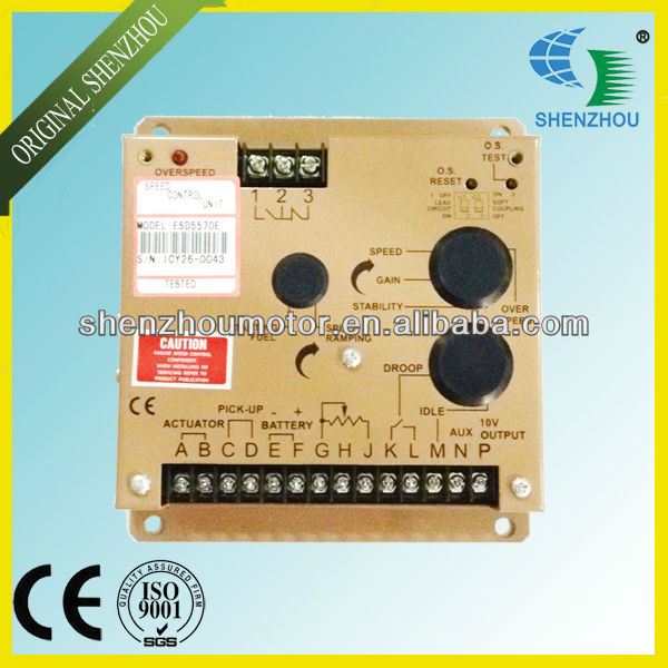Free Shipping Diesel Generator Speed Control Panel Governor ESD5570E ESD5570 fast shipping 6 5kw 220v 50hz single phase rotor stator gasoline generator diesel generator suit for any chinese brand