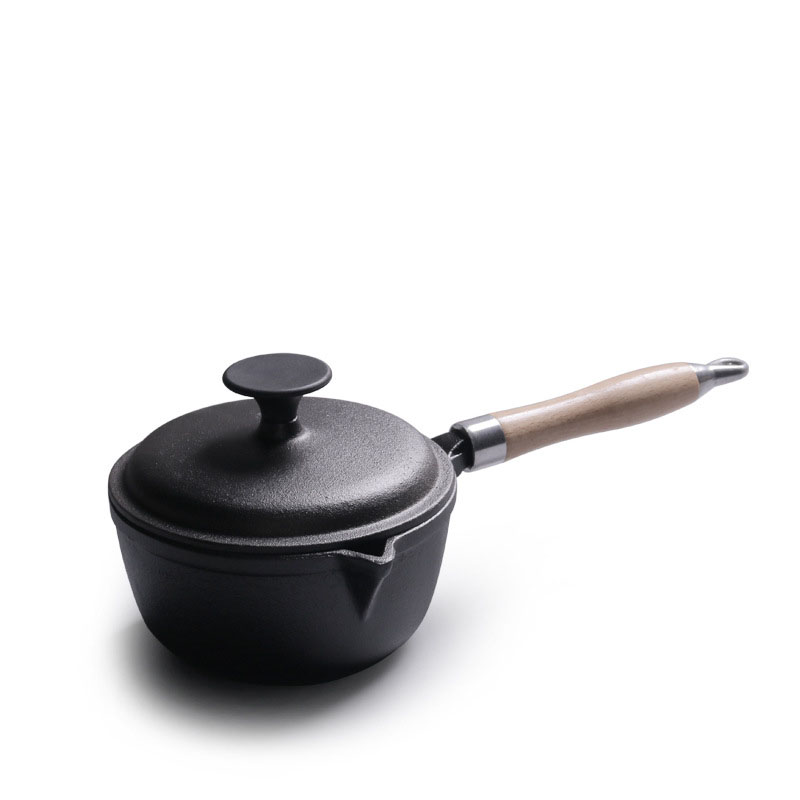 Cast Iron Milk Baby Food Soup Pot