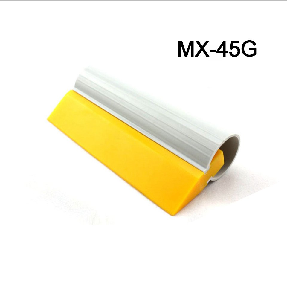 Yellow Turbo Squeegee Scraper For Auto Window Tint Film Water Clean MO 45G-in Car Stickers from Automobiles & Motorcycles