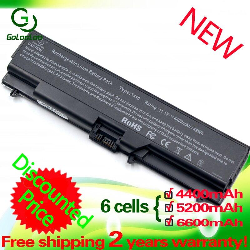 Bateria para Lenovo ThinkPad Edge T520 Golooloo L410 T420 T410 L420 T510 E40 E50 L512 L412 SL510 W510 W520 L421 l510 L520 SL410