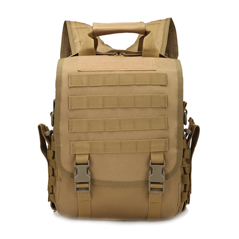 2016 Men Quality Laptop Backpack Waterproof font b Oxford b font Trekking Backpacks Molle Shoulder Bags