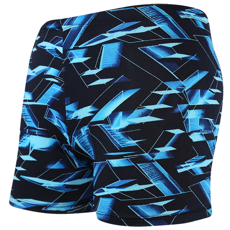 Sexy Summer <font><b>Mens</b></font> Swimwear Print <font><b>Swimming</b></font> Pants for <font><b>Men</b></font> Plus Size Board Shorts Beach Surfing Bathing Suit <font><b>2019</b></font> Summer Shorts image