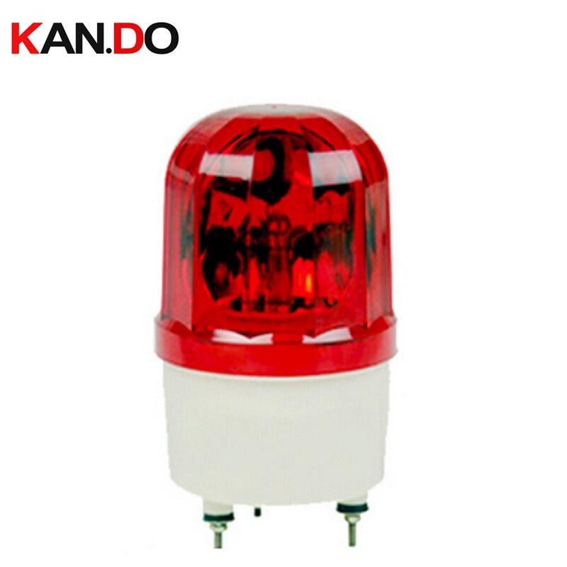 1101J 24v Emergency Alarm Wired Flashing LED Siren Wired Red Flash Light Fire Light Emergency Lighting 110db 911 Siren Alarm