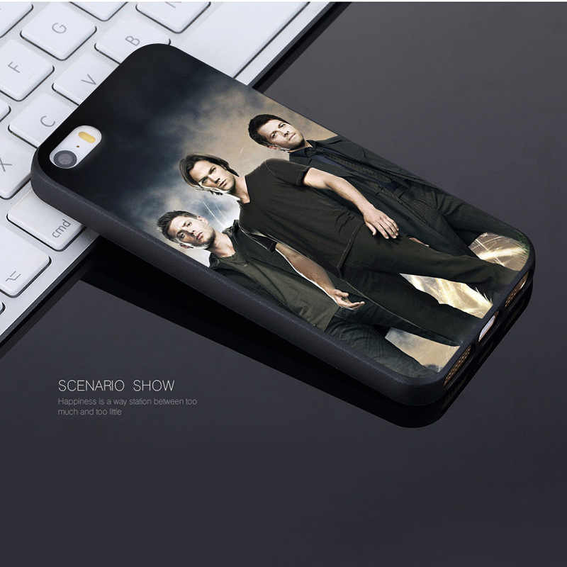 MaiYaCa Supernatural Jared Padalecki bella Accessori Del Telefono di Caso per il iphone di Apple 8 7 6 6S Plus X XS XR XSMax 5 5S SE Copertura