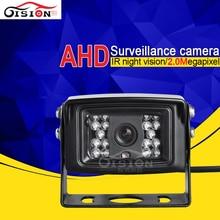 AHD Câmera Ao Ar Livre de Alta Qualidade de Visão Traseira 2.0MP HD Visão Nocturna do IR Câmera À Prova D' Água Para O Caminhão de Ônibus