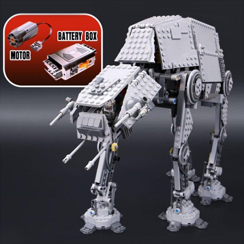 Lepin 05050 star wars atat 05051 legoing starwars 75054 Force Awaken star wars AT-AT 75054 Transpotation Building Blocks Bricks