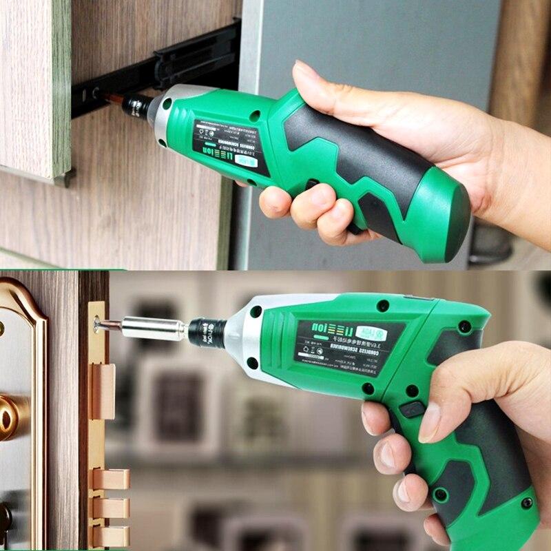 LAOA 3,6 V kaasaskantav elektrikruvikeeraja laaditav akuga - Elektrilised tööriistad - Foto 2