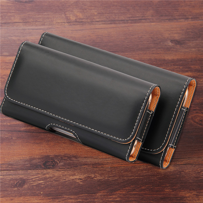 Universal Holster Skin Waist Hanging Belt Clip Leather Pouch Case For <font><b>Nokia</b></font> 106 8110 3310 130 105 150 230 225 <font><b>220</b></font> 515 208 301 image