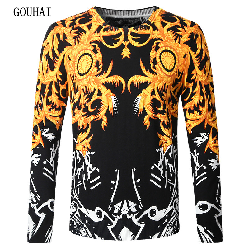 2017 Casual Sweater Men Pullover Marque Mens Sweaters Pattern Male Sweater Agasalho Masculino Plus Size M-3XL 4XL Pull Homme
