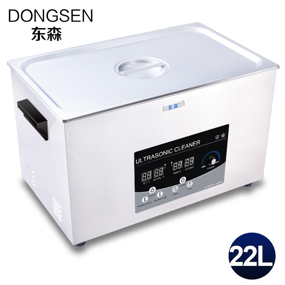 Ultrasonic Cleaner 22l Bath Medical Instruments Injector