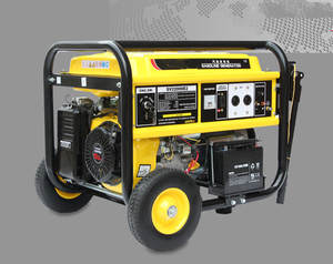 Gasoline-Generator 15HP 220V 5KW Single-Phase Domestic-Industry Powerful Four-Stroke