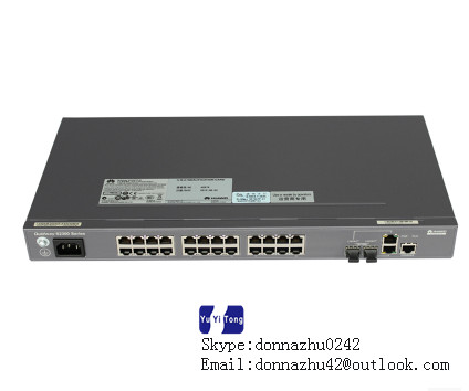 Orderly Hua Wei Quidway S2326tp-pwr Fiber Optic Equipments Communication Equipments ei Layer 2 Ethernet Switch With 500w Ac Power Module Numerous In Variety