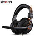 Ovann x7 Over Ear 3.5mm enchufe Grande Profesional PC Gaming Headset Auriculares Estéreo Bass Sonido Surround con Micrófono