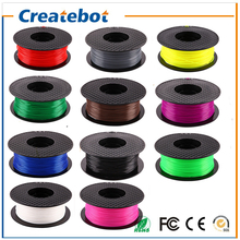 Createbot 3D Printer Material 1 kg 2.2 lb 1.75mm 3mm PLA Filament  Supported 3D printer Machine  Kit full color option
