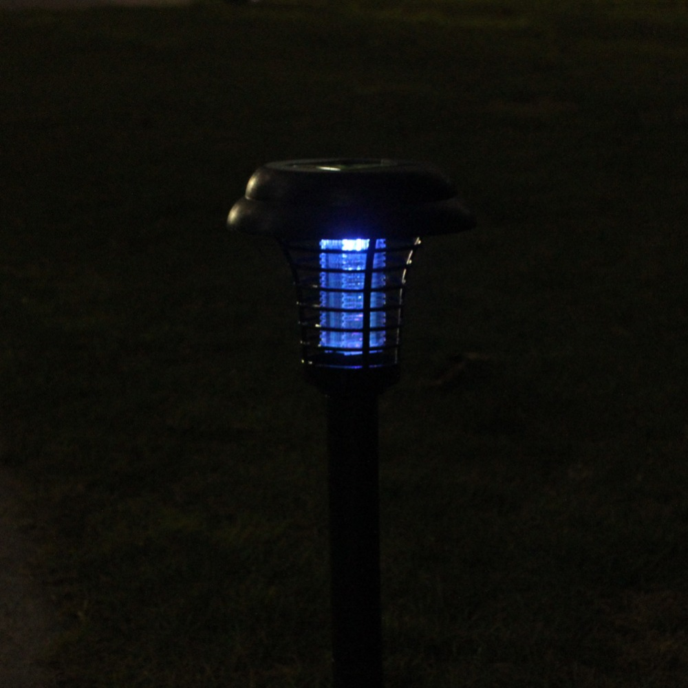 Image 5 - Led lamp Mosquito killer Solar mosquito killer lamps  solar powered lawn lamp Led Mosquito light for lawn Garden courtyard Patio-in Mosquito Killer Lamps from Lights & Lighting