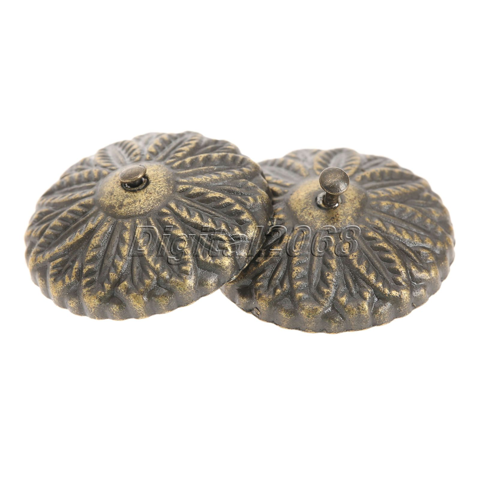 High Quality 50Pcs Bronze Vintage Decorative Furniture Upholstery Nails Tack Studs 22x6mm Free Shipping free shipping 50pcs mje15033g 50pcs mje15032g mje15033 mje15032 to 220