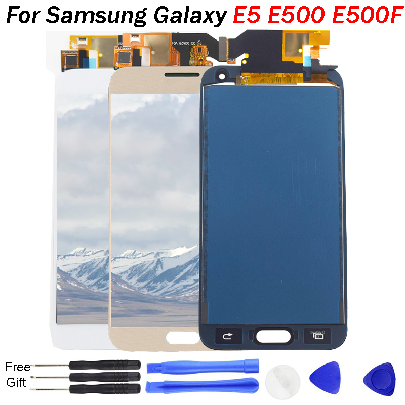 TFT <font><b>LCD</b></font> ersatz Für <font><b>Samsung</b></font> <font><b>Galaxy</b></font> <font><b>E5</b></font> E500 SM-E500F E500H <font><b>LCD</b></font> Display <font><b>Screen</b></font> modul E500M E500YZ display <font><b>lcd</b></font> <font><b>screen</b></font> modul image