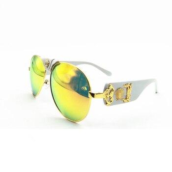 New sunglasses women brand designer sun glasses fashion high quality retro sunglasses men pilot style outdoor UV400 OEM
