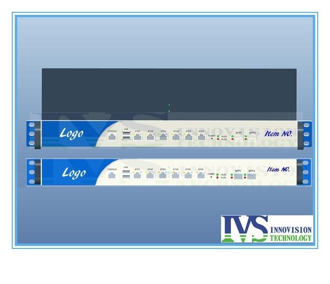 Serveur de routeur de Port de Fiber de 1U 2 * Intel 82599ES 10 Gigabit SFP i3 i5 i7 SIX 82574L Lans SYS-1U380-BF de contournement sans stock