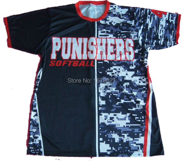 7d83cd7c3 High quality cheap custom sublimation lacrosse shooting shirt-in ...