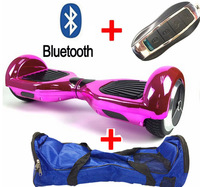 Hot Sale Two Wheel Self Electric Scooter Hoverboard Unicycle Skateboard Secure Battery Bluetooch Remote Bag