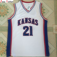 check out dd7ee af406 Popular Kansas Jayhawks Basketball Jersey Manning-Buy Cheap ...