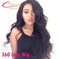 8A Full Lace Lace Front 360 Lace Frontal Wigs Thick Density 150% 180% Natural Color Brazilian Virgin Hair Wig For Black Women