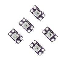 10 x WS2812B RGB LED breakout modules