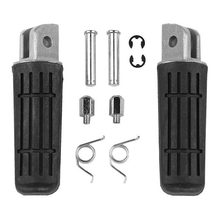motorcycle Front Footrest Foot Pegs Pedals For YAMAHA FJR 1300 FZ1 FZ400 FZ6R XJR400 YZF 1000 R1 YZFR1 xjr1200 xjr1300 TDM 900(China)