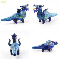 Smoking Pipes Dinosaur Oil Burner Tobacco Pipe Portable Animal Hand Pipe Wholesale Latest Lovely Smoking Pipes