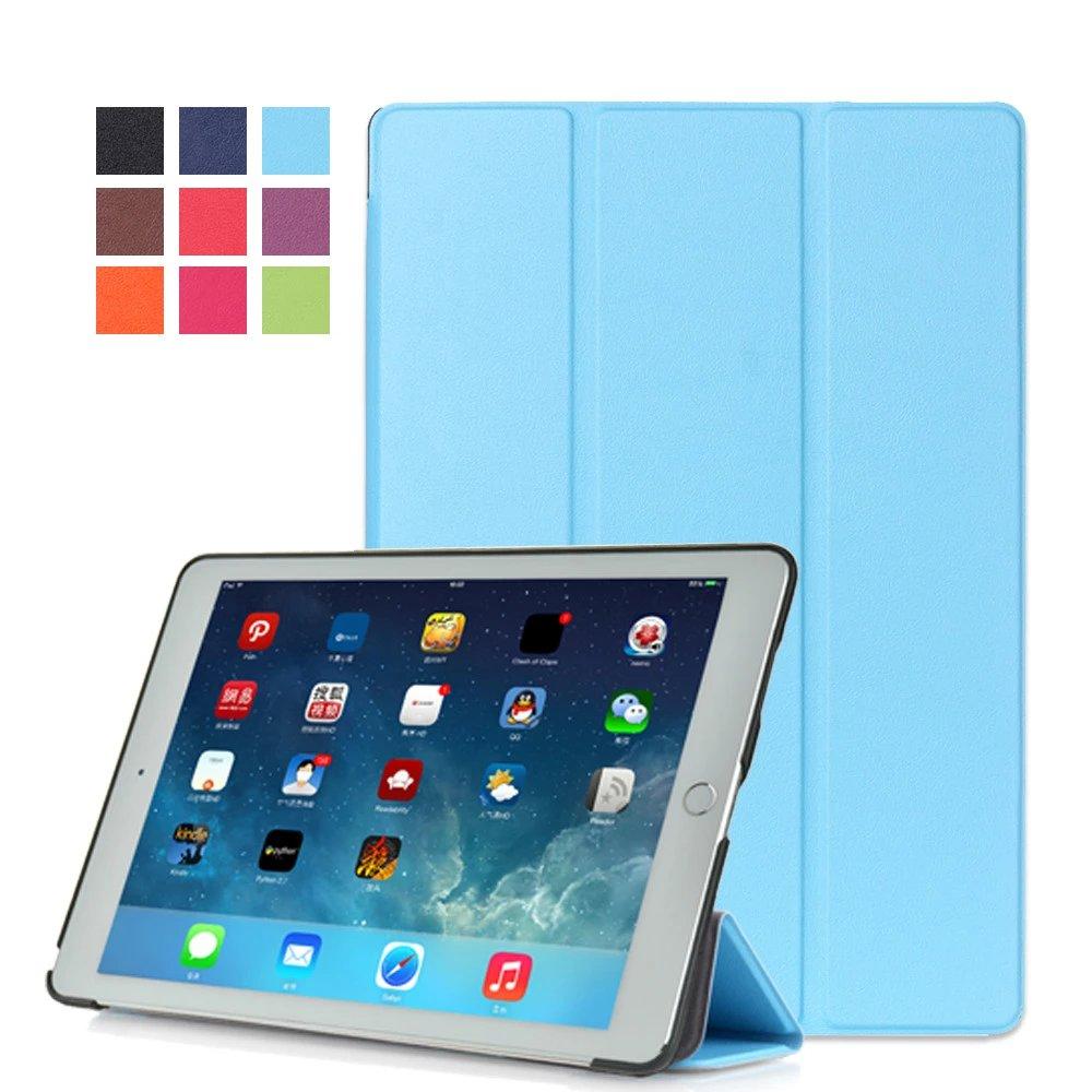 Sky blue Monochrome multicolor smart case for Apple iPad Pro 9.7 inch 2016