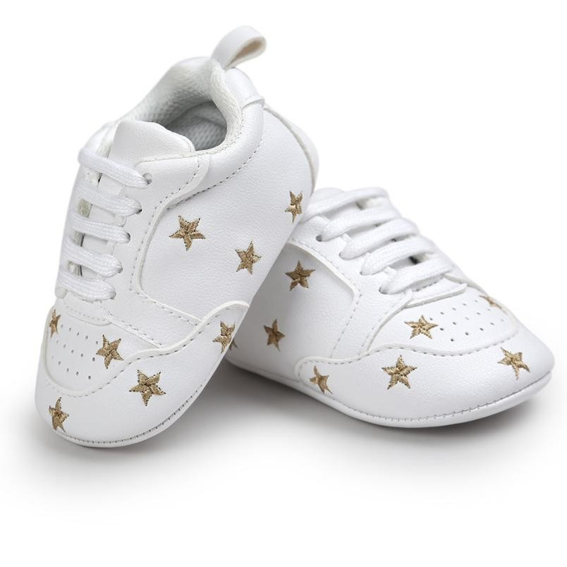 Baby embroidery sports shoes Newborn Baby Girl Shoes Toddler Shoes Baby Sneakers Skid-proof Shoes Todder pre-walker Y-NEW