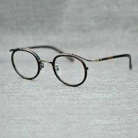 Osilotte New Eyeglasses Frame Retro Optical Frame Glasses Men And Women Acetate Szie 48 22 145