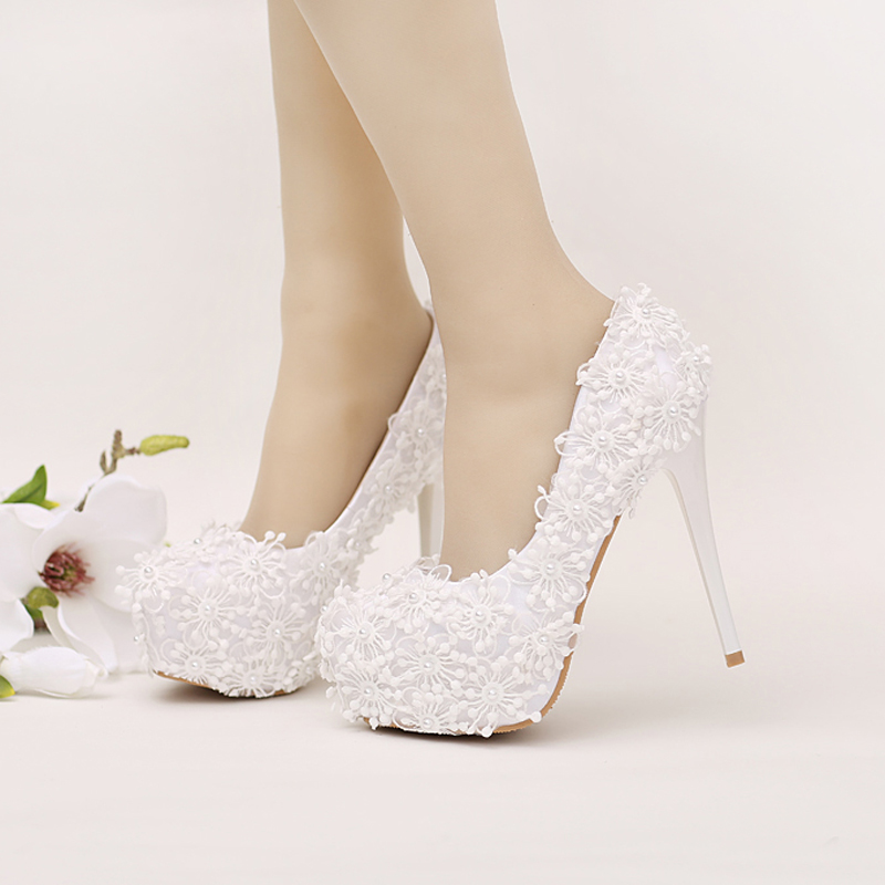 Online Buy Wholesale white stiletto shoes from China white