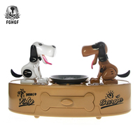 Toys Twins Doggy Bank Hungry Greedy Dogs Money Pot Choken Bako Puppies Piggy Bank Children Coin Box Dog Lovers Gift