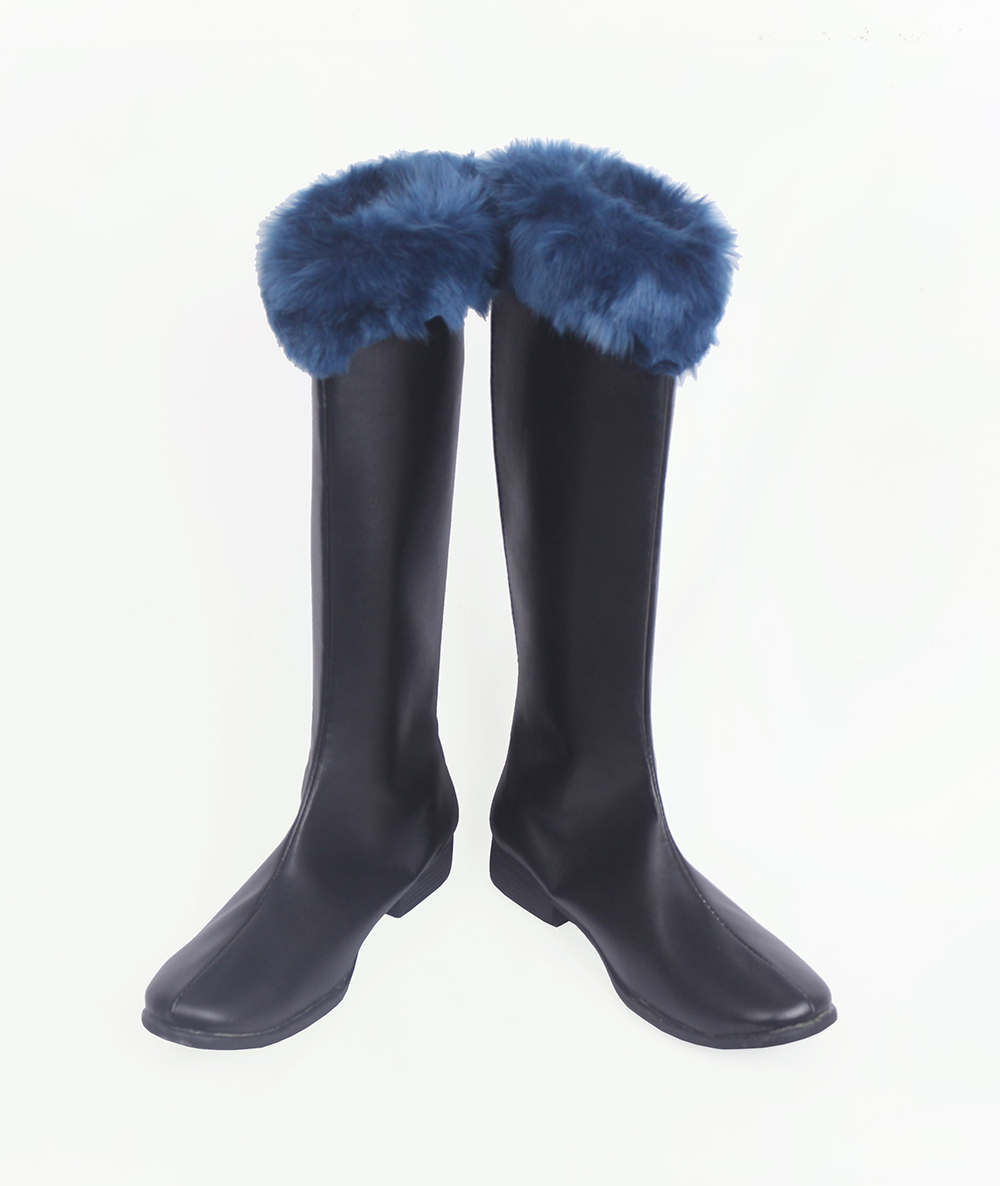 Black Clover Klaus Lunettes Cosplay Boots (4)