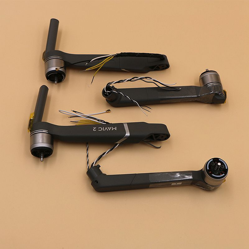 Original DJI Mavic 2 pro/zoom Front Left/ Front Right/Left Rear/Right Rear Motor Arm for DJI Mavic 2 pro/zoom drone Repair Parts