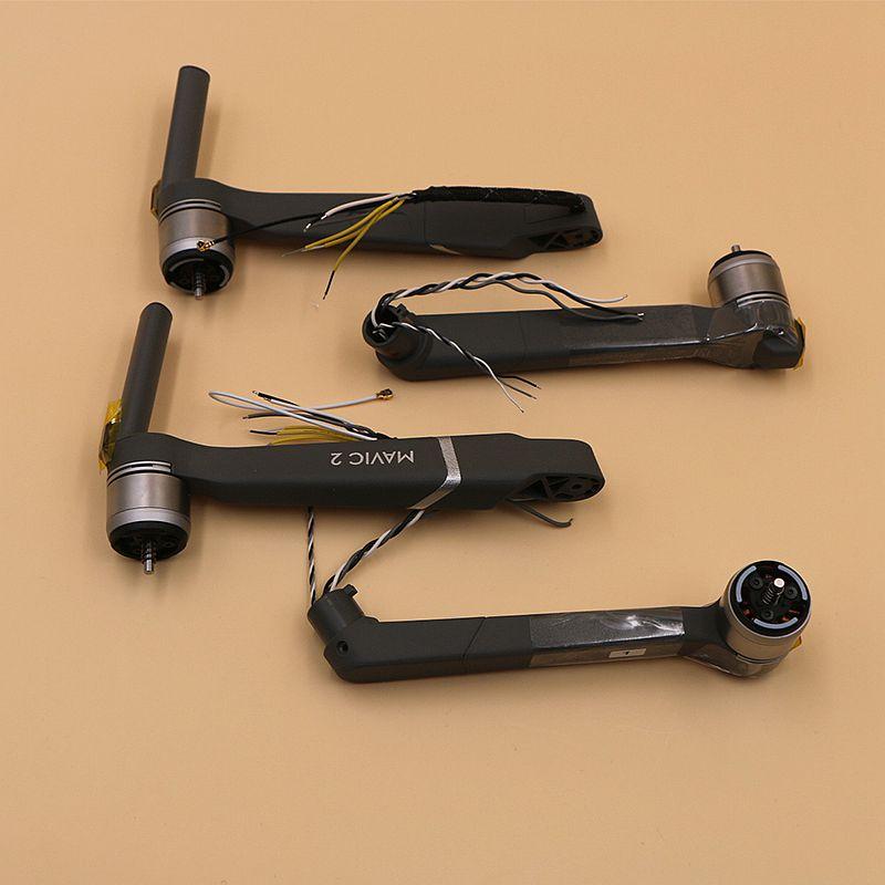 Original DJI Mavic 2 pro/zoom avant gauche/avant droite/gauche arrière/droite arrière moteur bras pour DJI Mavic 2 pro/zoom drone pièces de réparation