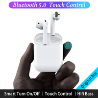 i12 TWS i10 Bluetooth Earphones Wireless Earphone Smart Touch Control Earbuds For iPhone Samsung Sony Head phones i7 i10 tws