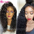180% Density Lace Front Wigs Curly Glueless Baby Hair Human Hair Full Lace Wigs 4x4 Silk Top 7A Virgin Unprocess Full Lace Wigs