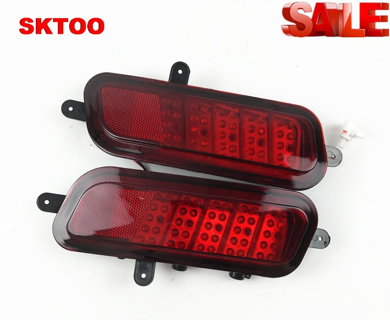 SKTOO For Great Wall Hover CUV H3 rear bar lights Rear fog lights Bumper lights Fog lamp assembly Rear light Signal Lamp for great wall pickup truck wingle 6 tail lamp assembly rear lights assembly