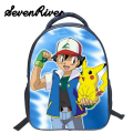 13 Inch Anime Pokemon Boys Girls School Bags Pikachu Daily Backpack  For Teenagers Kids Gift Backpacks Schoolbags Mochila