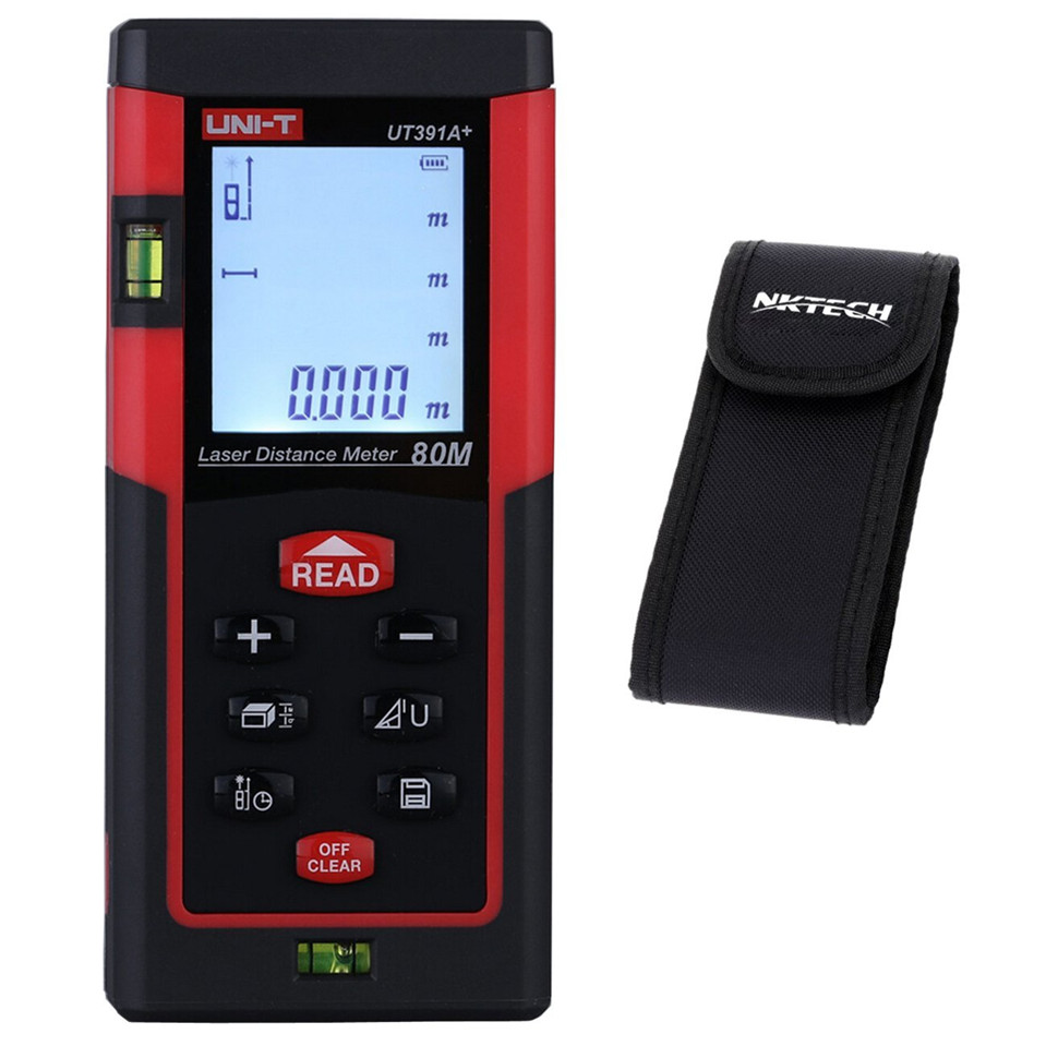 UNI-T UT391A+ Digital Laser Distance Meter 80M Range Finder джемпер qed london qed london qe001ewxzl63